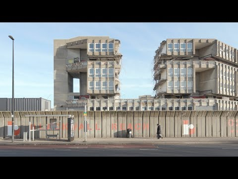 Exclusive Dezeen footage reveals demolition of Robin Hood Gardens