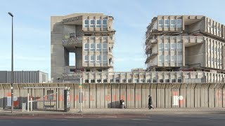 Exclusive Dezeen footage reveals demolition of Robin Hood Gardens