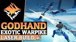 Dauntless Exotic The GodHand - Exotic Builds and DPS Gameplay - Dauntless Patch 0.8.2