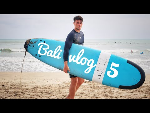 Bali Vlog 5! DOUBLE SIX BEACH   Night life in Bali!