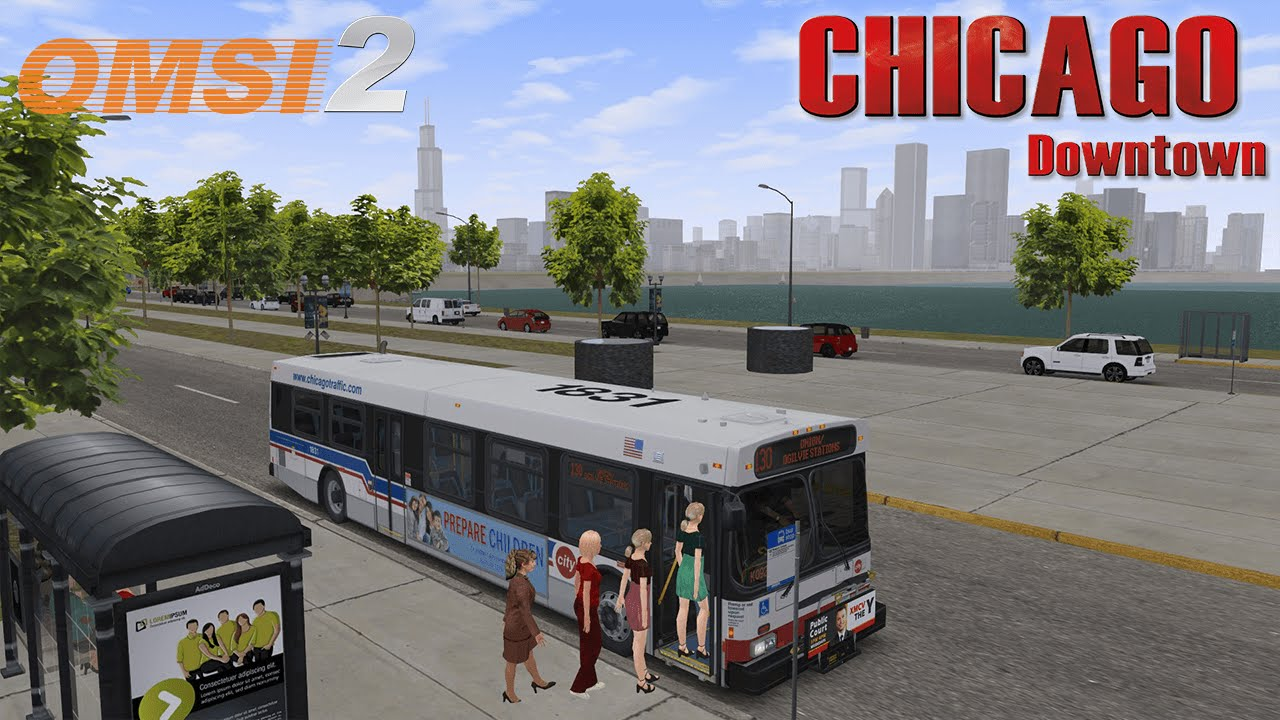 Chicago Downtown - Addon for OMSI 2