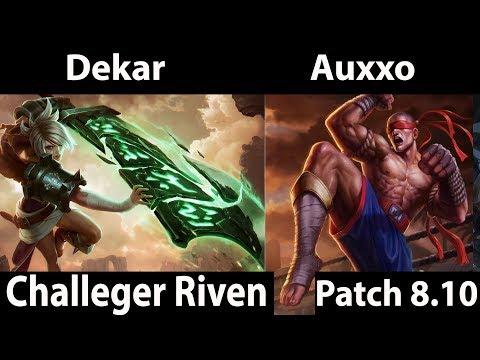 Dekar Riven Jungle - league of legends thumbnail