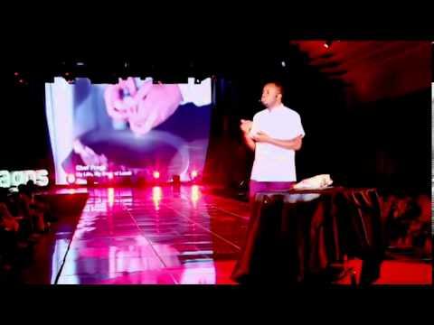 My life, my rack of lamb: Chef Fregz at TEDxLagos