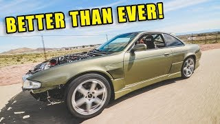 The NON-VEGETARIAN LS1 S14 IS BACK!! *SHE RIPS*