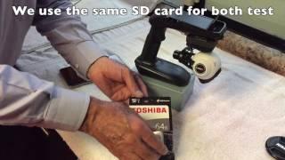 Test SD card Mavic Pro