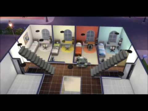 Как сделать в симс 2 общежитие