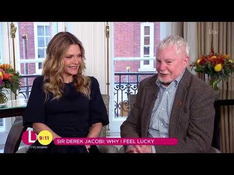 Michelle Pfeiffer & Sir Derek Jacobi on Their Careers | Lorraine streaming vf