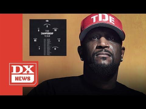 "TDE Announces ""The Championship Tour"" Featuring Kendrick Lamar, SZA & More"