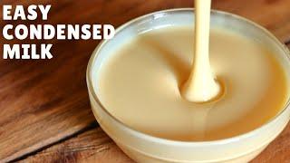 Homemade Condensed Milk | How to Make Condensed Milk at Home (Hindi)