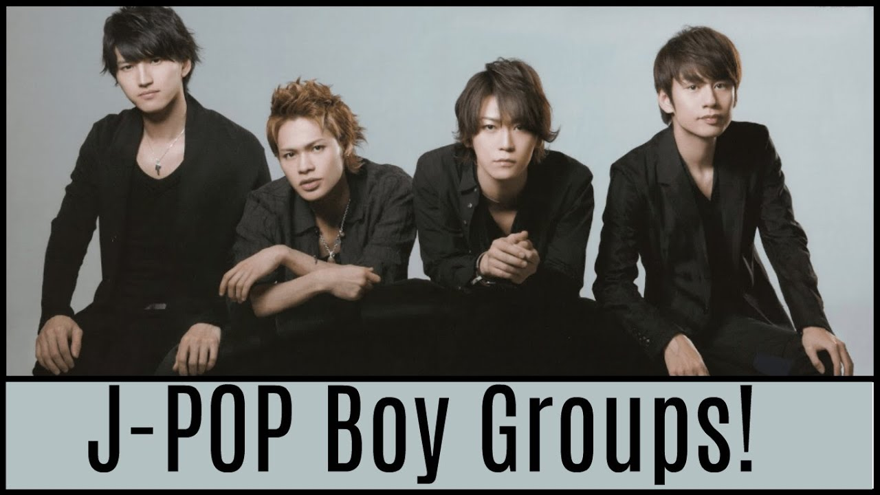Top 20 J-POP Boy Band Ranking! - YouTube