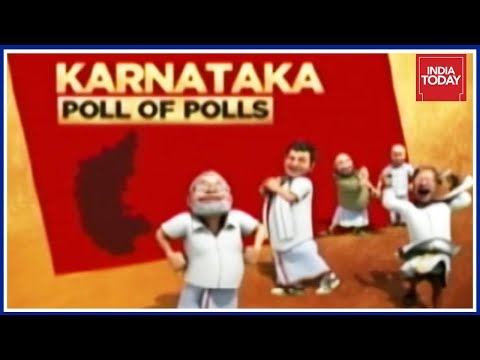 Karnataka Poll Of Polls : India Today Dissects Opinion Polls On Assembly Elections  Exclusive
