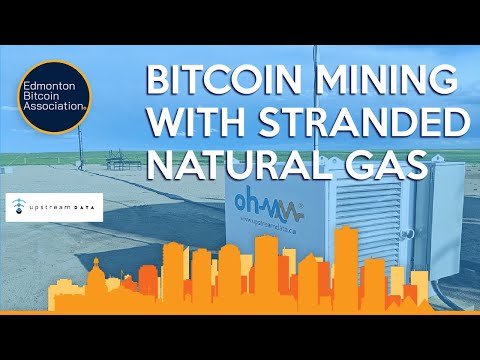 Bitcoin Mining With Stranded Natural Gas Presentation By Upstream Data