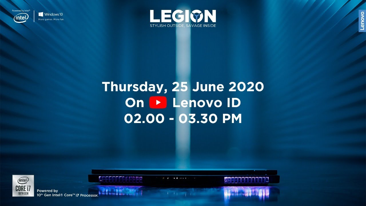 The New Lenovo Gaming Line Up Launch Event