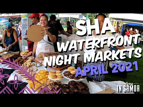 2nd Samoa Hotel Association Night Markets - Samoa April 2021