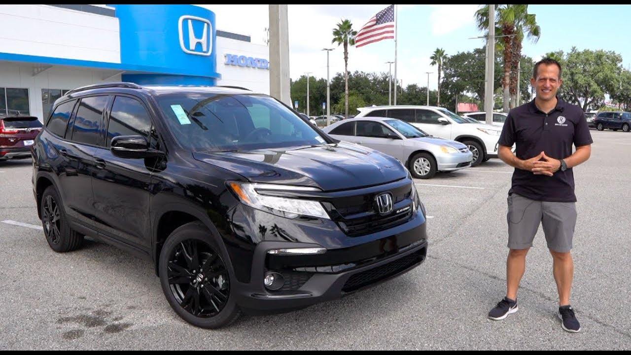 Is The 2020 Honda Pilot Black Edition Now The Ultimate 3 Row Suv Youtube