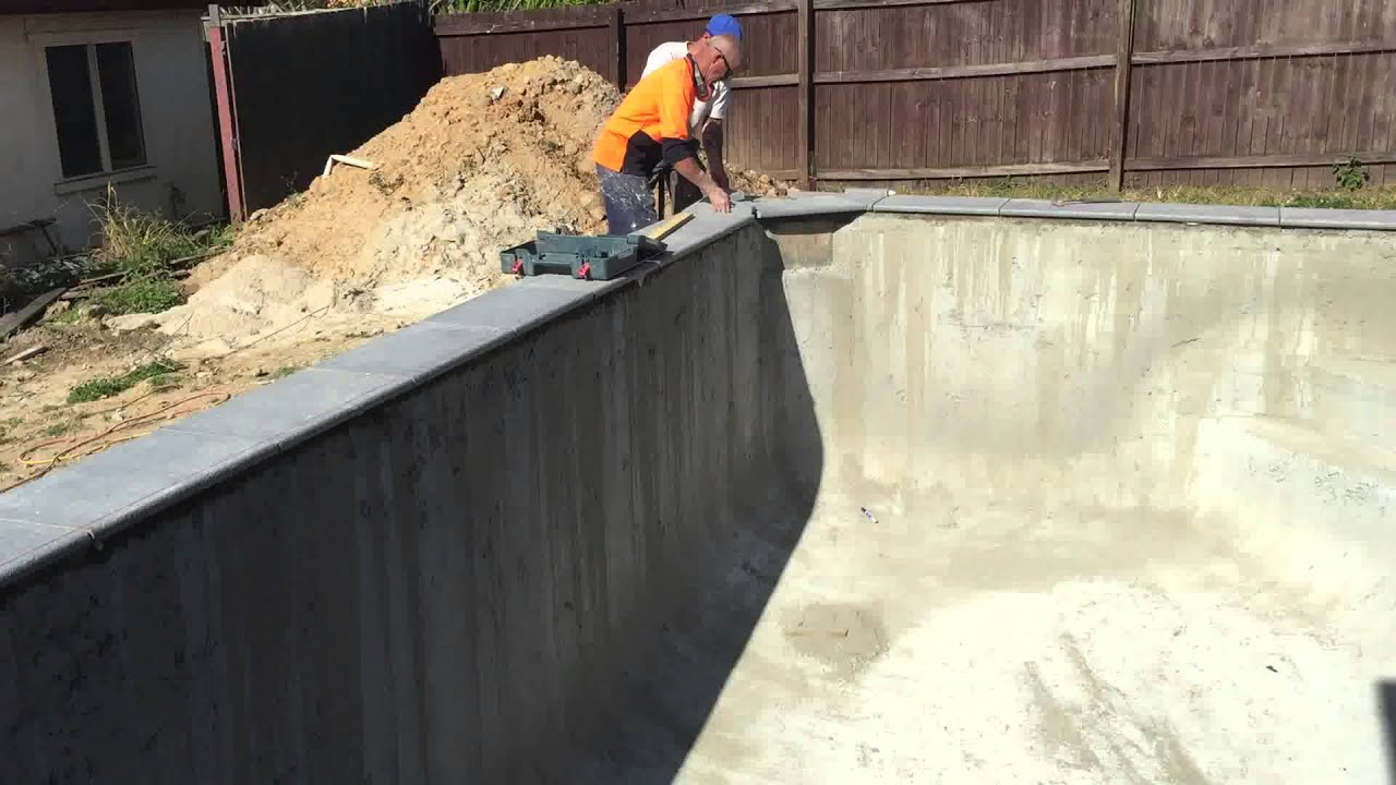 Exceptional Laying The Pool Coping