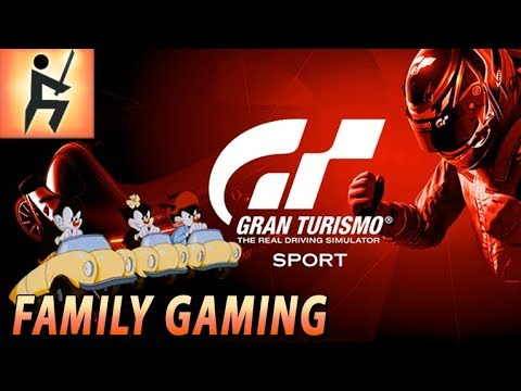 Family Gaming : Gran Turismo Sport Beta | Part 03 - Colorado Springs Lake