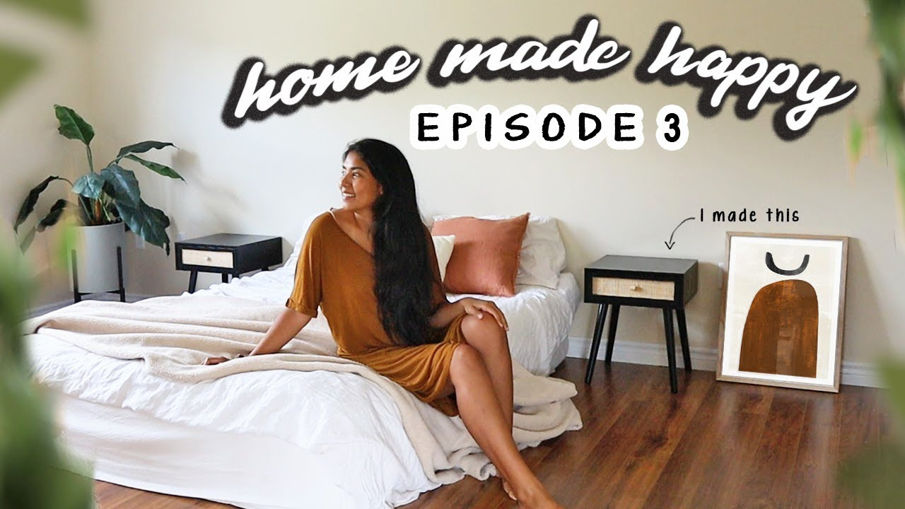 Making My Nightstands (diy side tables) | Home Made Happy - Ep. 3