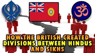 How The British Created Divisions Between Hindus and Sikhs(HINDI SUBTITLES)