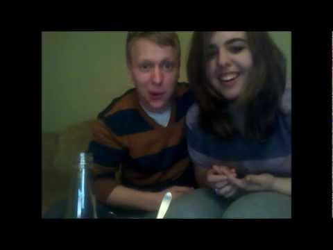 Long distance relationhip cute funny couple (Mariana and Philip)