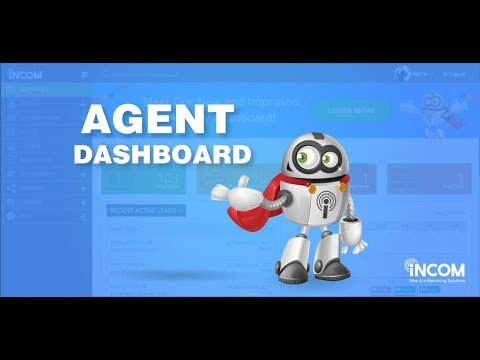 InCom Agent Dashboard