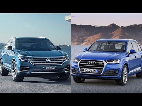 2019 Volkswagen Touareg Vs 2018 Audi Q7 Comparison