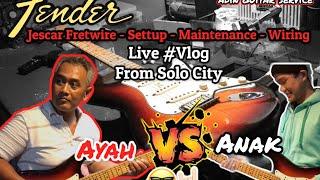 FENDER STRAT USA From SOLO Full Settup Live Vlog