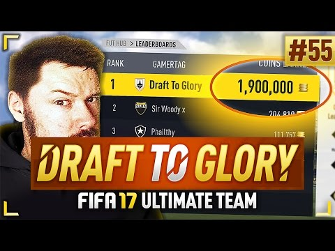 1,900,000 COINS EARNED! #FIFA17 DRAFT TO GLORY #55