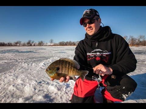 Webster, South Dakota Ice Fishing Panfish - In-Depth Outdoors TV Season 9, Episode 2