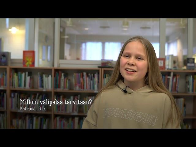 Thumbnail of video called Hyvää välipalaa aikuisen tuella