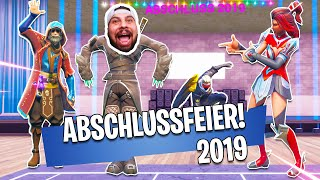 Abschlussfeier 2019 in der Superhelden Academy! | Fortnite Superhelden Academy!