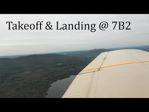 Flight Training @ Northampton Airport (7B2) | Uncut No Aircraft Audio