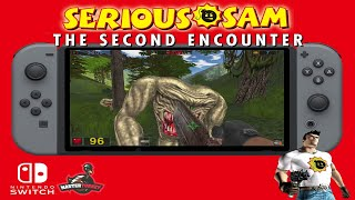 Serious Sam: The Second Encounter - Nintendo Switch Homebrew