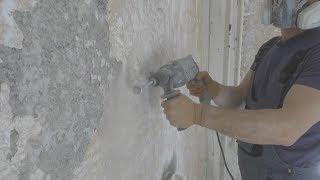 Как удалить краску? Простой и дешeвый способ снятия старой масляной краски cо стен.