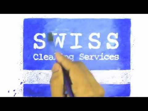 Swiss Cleaning Services - Animated Logo