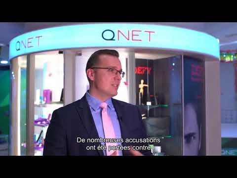 QNET est prétendument un système pyramidal, est-ce vrai?