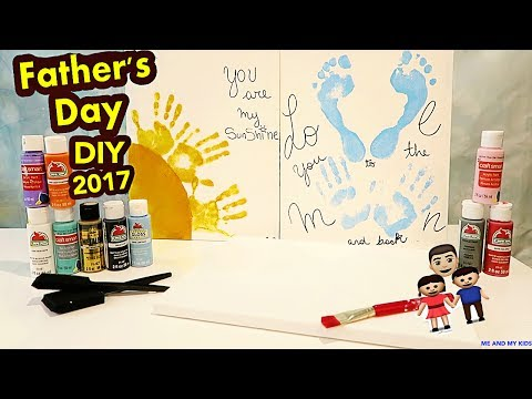 FATHER'S DAY DIY GIFTS IDEAS 2017