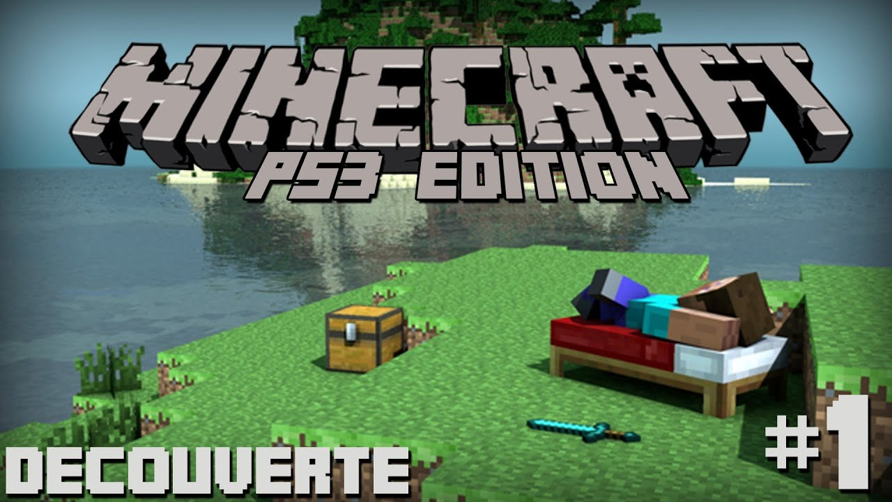 Vid o d couverte minecraft sur ps3 episode 1 youtube - Jeux video de minecraft ...