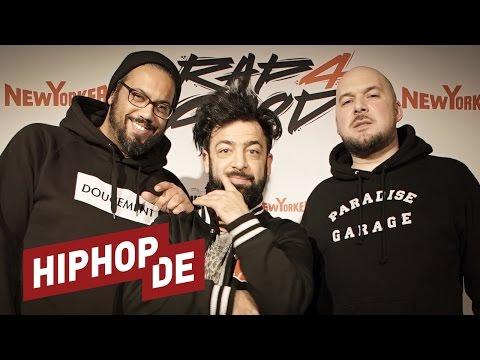 Kool Savas & Samy Deluxe: Rap4Good, miese Rapper & A&Rs, Kritik, Liveshows uvm. (Interview) #waslos