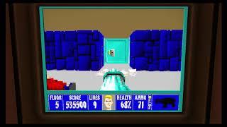 Wolfenstein 3D Episode 6 Floor 5