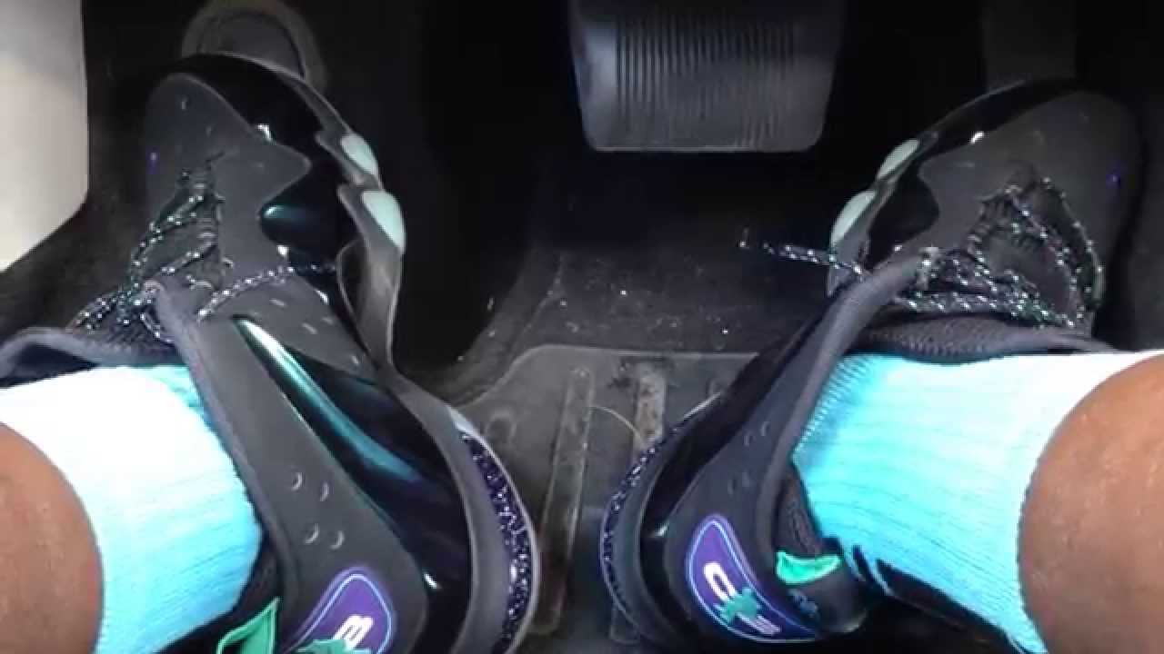 check out 1fa62 51ac0 Driving in my Nike Barkley Posite Max (Eggplant)