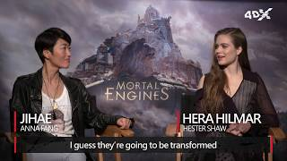 Mortal Engines in 4DX | Hera Hilmar & Jihae