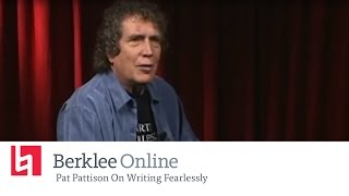Berklee Online Interview: Pat Pattison On Writing Fearlessly