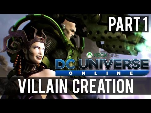DC Universe Online | Part 1 – Introduction (Xbox One Co-Op Gameplay)