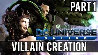 DC Universe Online   Part 1 - Introduction (Xbox One Co-Op Gameplay)