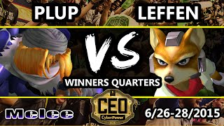 CEO 2015 - TSM | Leffen (Fox) Vs. Plup (Sheik) SSBM Winners Quarters - Smash Melee