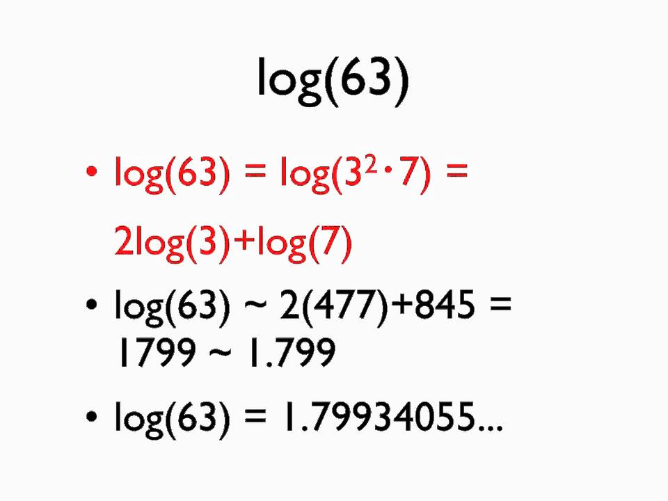 calculating logarithms in your head youtube rh youtube com Manual Calculation in Parking ACCA Residential Load Calculation Manual