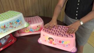 Ginsey Step Stool with Extra Grip Product Video