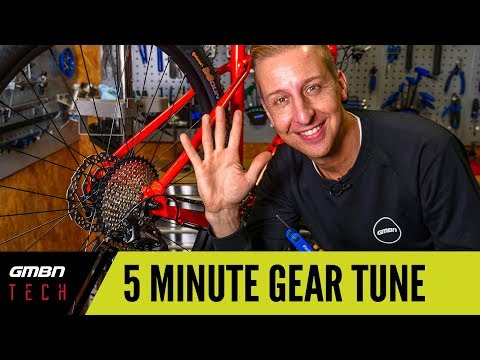 5 Minute Gear Adjust | How To Set Up Your Mountain Bike Gears Correctly