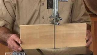 Woodworking Project Tips: Band Saw - Squaring Your Blade To The Band Saw Table